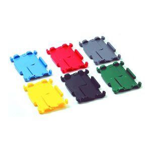 Klapdeksel voor transportkratten VTK 600x400 geel