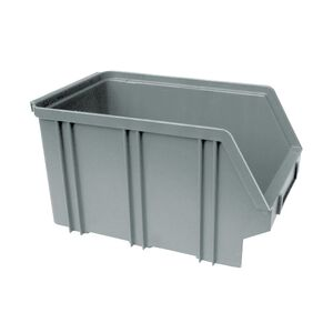 Kunststof stapelbak, Plastic magazijnbak A3 240x150x135 grijs