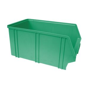 Kunststof stapelbak, Plastic magazijnbak A4 350x210x160 groen