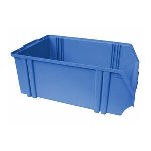 Kunststof stapelbak, Plastic magazijnbak A5 500x300x180 blauw