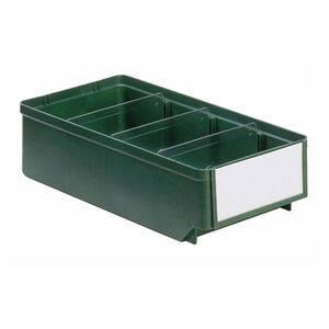 Magazijnbak, Magazijnstellingbak, Kunststof bak RK 300x152x83 groen