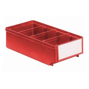 Magazijnbak, Magazijnstellingbak, Kunststof bak RK 300x152x83 rood