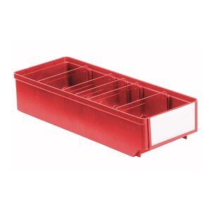 Magazijnbak, Magazijnstellingbak, Kunststof bak RK 400x152x83 rood