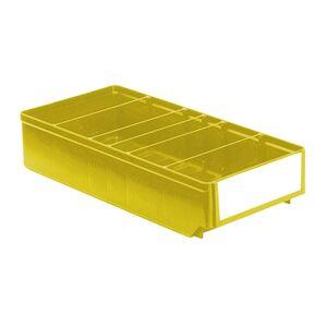 Magazijnbak, Magazijnstellingbak, Kunststof bak RK 400x186x83 geel