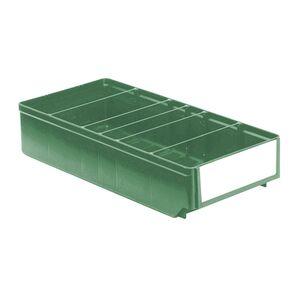 Magazijnbak, Magazijnstellingbak, Kunststof bak RK 400x186x83 groen