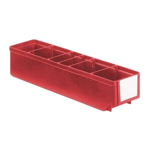 Magazijnbak, Magazijnstellingbak, Kunststof bak RK 400x93x83 rood