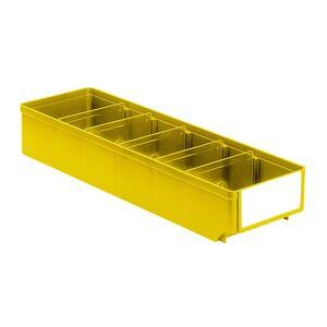 Magazijnbak, Magazijnstellingbak, Kunststof bak RK 500x152x83 geel