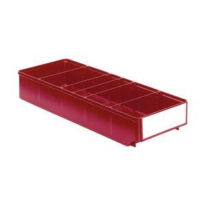 Magazijnbak, Magazijnstellingbak, Kunststof bak RK 500x186x83 rood