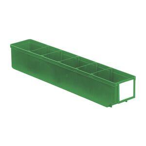 Magazijnbak, Magazijnstellingbak, Kunststof bak RK 500x93x83 groen