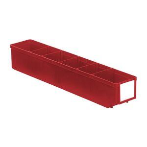 Magazijnbak, Magazijnstellingbak, Kunststof bak RK 500x93x83 rood