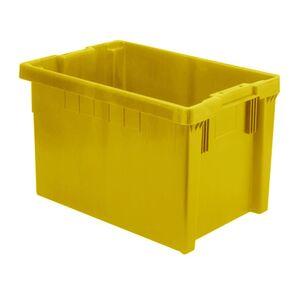 Stapelbare, nestbare euronorm bak LB 600x400x350 geel