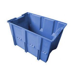 Stapelbare, nestbare transportkrat DLK1 480x312x300 blauw
