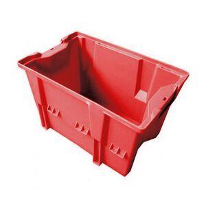 Stapelbare, nestbare transportkrat DLK1C 480x312x200 rood