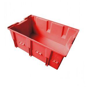 Stapelbare, nestbare transportkrat DLK2C 328x210x150 rood