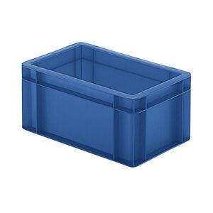 Transportkrat Euronorm plastic bak, krat TK0 300x200x145 blauw