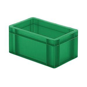 Transportkrat Euronorm plastic bak, krat TK0 300x200x145 groen