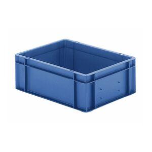 Transportkrat Euronorm plastic bak, krat TK0 400x300x145 blauw