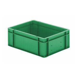 Transportkrat Euronorm plastic bak, krat TK0 400x300x145 groen
