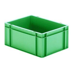 Transportkrat Euronorm plastic bak, krat TK0 400x300x175 groen
