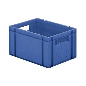 Transportkrat Euronorm plastic bak, krat TK0 400x300x210 blauw