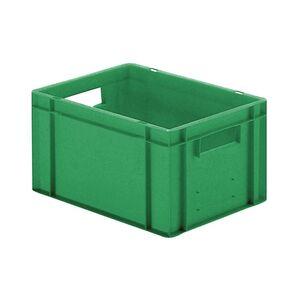 Transportkrat Euronorm plastic bak, krat TK0 400x300x210 groen