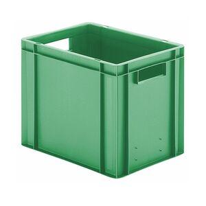 Transportkrat Euronorm plastic bak, krat TK0 400x300x320 groen