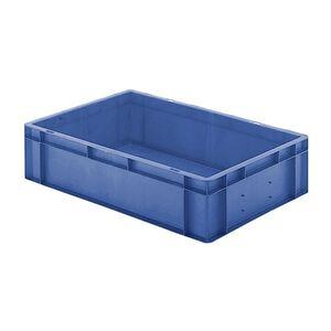 Transportkrat Euronorm plastic bak, krat TK0 600x400x145 blauw