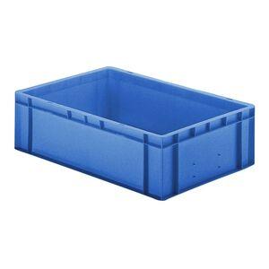 Transportkrat Euronorm plastic bak, krat TK0 600x400x175 blauw