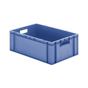 Transportkrat Euronorm plastic bak, krat TK0 600x400x210 blauw