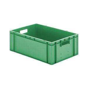Transportkrat Euronorm plastic bak, krat TK0 600x400x210 groen