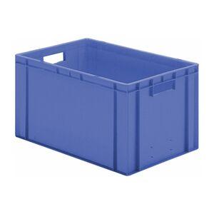 Transportkrat Euronorm plastic bak, krat TK0 600x400x320 blauw