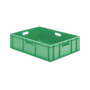 Transportkrat Euronorm plastic bak, krat TK0 800x600x210 groen