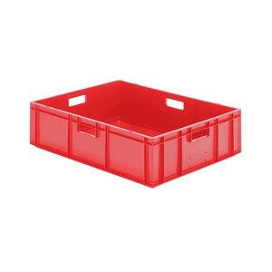 Transportkrat Euronorm plastic bak, krat TK0 800x600x210 rood