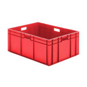 Transportkrat Euronorm plastic bak, krat TK0 800x600x320 rood