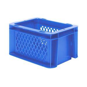 Transportkrat Euronorm plastic bak, krat TK1 200x100x120 blauw