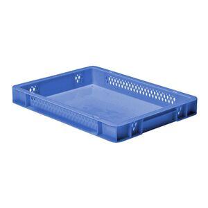 Transportkrat Euronorm plastic bak, krat TK1 400x300x50 blauw