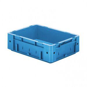 Zware transportkrat Euronorm plastic bak, krat VTK0 400x300x120 blauw