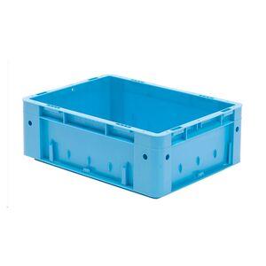 Zware transportkrat Euronorm plastic bak, krat VTK0 400x300x145 blauw