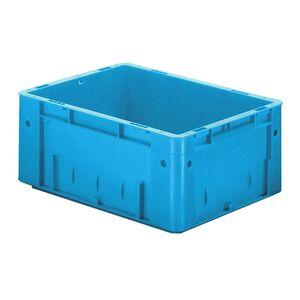 Zware transportkrat Euronorm plastic bak, krat VTK0 400x300x175 blauw
