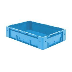 Zware transportkrat Euronorm plastic bak, krat VTK0 600x400x145 blauw