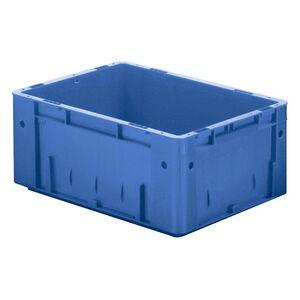 Zware transportkrat Euronorm plastic bak, krat VTK0 600x400x175 blauw