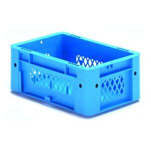 Zware transportkrat Euronorm plastic bak, krat VTK1 300x200x120 blauw